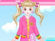 Play Pink Hearts Dress Up