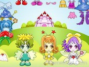 Play Three Fairy Dressup