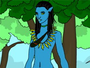 Avatar World Coloring