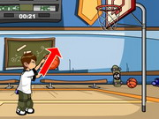 Play Ben 10 basketball star