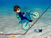 Play Ben 10 Motocross Under The Sea