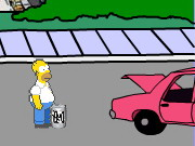 Play Homer's Beer Run 2