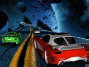 لعبة سيارات في الفضاء