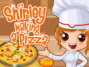 Shirley Making A Pizza