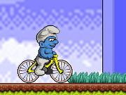 Pelaa Smurf BMX peli