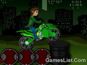Play Ben 10 Bike Trail
