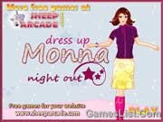 Play Dress up Monna