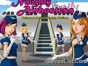 Funny Air Hostess