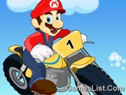 Play Mario Hard Bike