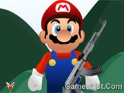 Mario Shooting Enemy