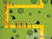 Play Stickman Tower Defense