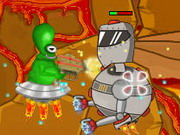 Play Alien Vs Robots