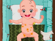Baby Diaper Change - gyereknevelés