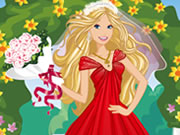 Play Barbie Bride Dress up