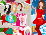 Barbi karácsonykor