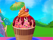 Play Barbie Ice Cream Party