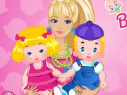 Barbie Twins Babysitter