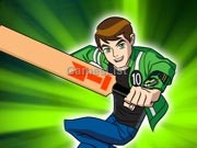 Play Ben 10  Cricket