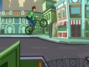 Play Ben 10 Super Stunt BMX