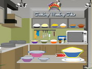 Cooking Wedding cake