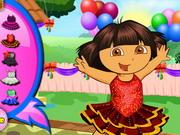 Dóra szülinapi bulija - a felfedező kislány  ingyen játékok gyerekeknek