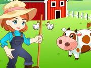 لعبة فتاة المزرعة
