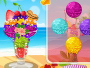 Fresh Icy Sundae Decoration