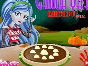 Monster High csokis pite