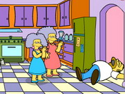 Play Homero Simpson Saw Game