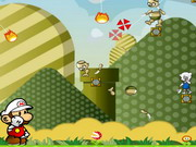 Mario Fire Bounce Level Pack 2