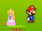 Mario Hugging Princess