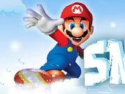 Play Mario Snow Fun