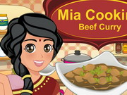 Mia Cooking Beef Curry