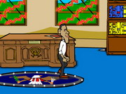Obama Oval Office Escape