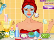 Pajama Party Facial Makeover