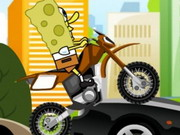 Spongebob Bike Practice