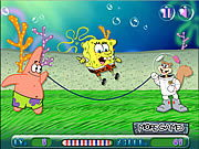Spongebob Rope Skipping