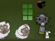 Play The Black Wolf Wants Sheep 2