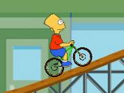 Bart Simpson BMX-ezik