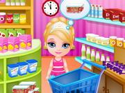 Torta a kis Barbieval