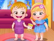 Hazel Baba bébi szittere - Lányos öltöztetős és sminkelős játékok kicsiknek és nagyoknak