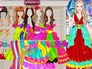 Barbie Fashion Fairytale Dressup