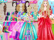 Barbie Musketeer Princess Dressup