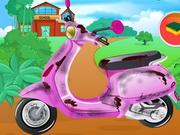 Barbi motor takarítás