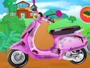 Pucold Barbi motorját!