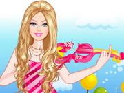 Barbi hegedűs