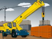 Container Crane Parkin - pakolós