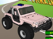 Crazy Jeep Parking 2