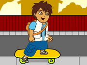 Diégó gördeszkázik - Go, Diego! Go! - a felfedező kisfiú kalandjai az őserdőben