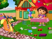 Takaríts Dórával - Dóra a felfedező ingyen játékok gyerekeknek